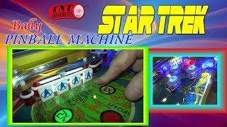#1116 Bally STAR TREK Pinball Machine from 1979 - TNT Amusements