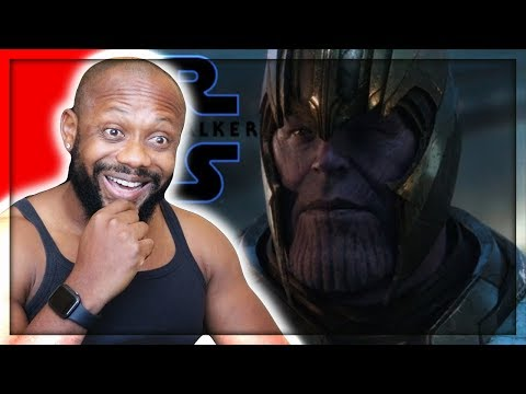 Avengers: Endgame – (Star Wars: The Rise of Skywalker D23 Special Look Style) | REACTION!!!