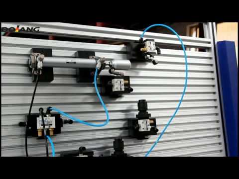 Electro Pneumatic Trainer demo DLQD-DP201