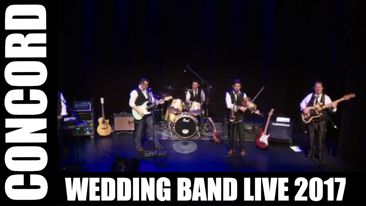 Concord Wedding Band Live 2017 Recorded In Westport