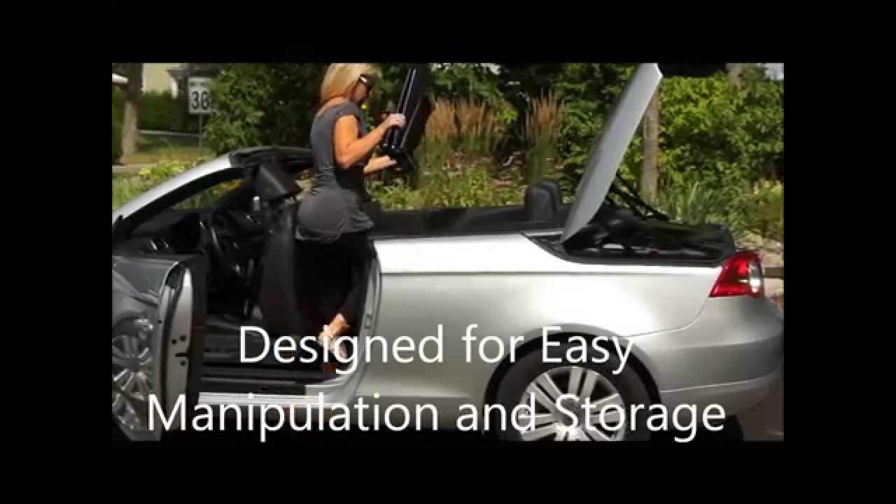 Wind Deflector For Convertible Installation Step Wmv Youtube