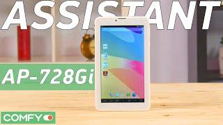 Assistant AP-728Gi SoFIA FREEDOM - доступный планшет с процессором Intel  - Видео демонстрация