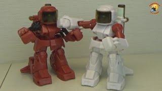 Робот боксер обзор игрушки RC battle robots
