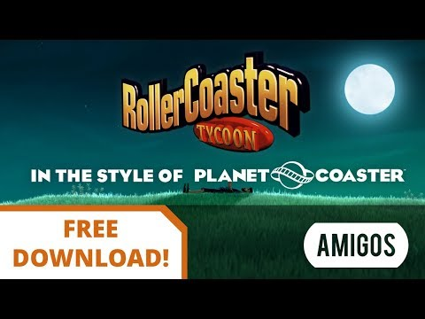 RollerCoaster Tycoon Theme Song - Planet Coaster Style