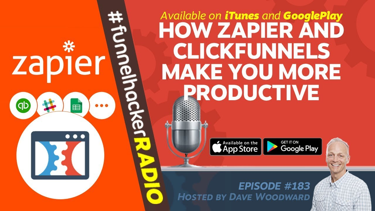 How Zapier and ClickFunnels Make You More Productive - FHR #183