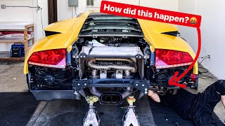 REBUILDING MY WRECKED LAMBORGHINI MURCIELAGO! *IT'S NOT THE CLUTCH*