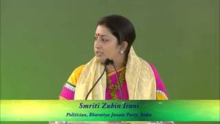 Smriti Irani on Women Issues - Congress Must Watch before Commenting on Her ! thumbnail