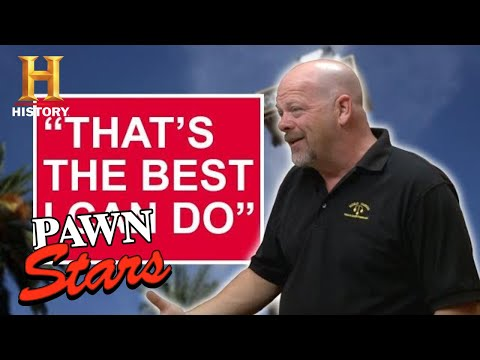 "Pawn Stars: ""THE BEST I CAN DO"" (13 RUTHLESS NEGOTIATIONS) 