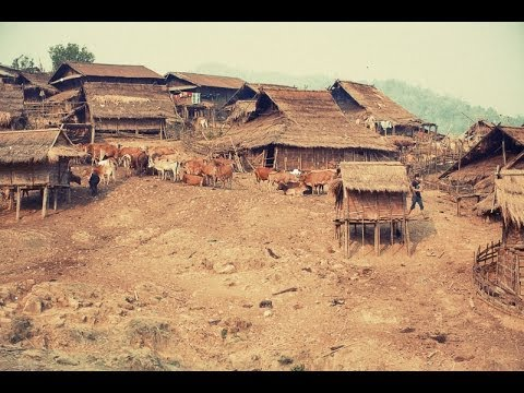 Akha Hill Tribe Village Life-Northern Laos