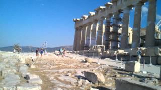 2013 Греция. Афинский Акрополь. Эрехтейон и Парфенон(, 2013-09-29T13:17:16.000Z)