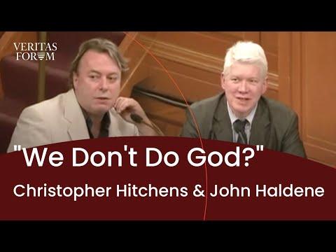 [official] Christopher Hitchens and John Haldane at Oxford - We Don't Do God? - The Veritas Forum