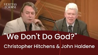 [official] Christopher Hitchens and John Haldane at Oxford - We Don
