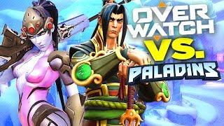 Overwatch vs Paladins - Why Paladins is NOT FREE Overwatch
