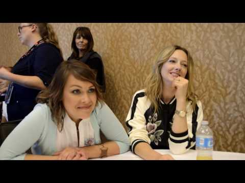 Judy Greer and Amber Nash  Archer 2016 San Diego ComicCon