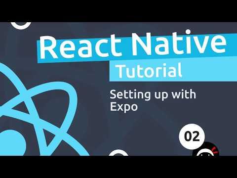 React Native Tutorial  #2 - Creating a React Native App thumbnail