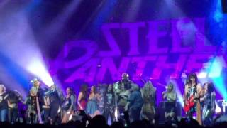 Steel Panther - Eatin ain't Cheatin live at the Big Top, Luna Park, Sydney 17th June 2016