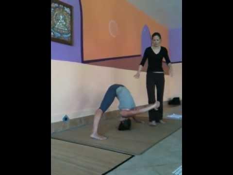 caroline klebl  yoga teacher training  prasarita