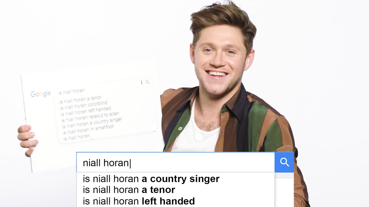 Niall Horan Answers the Web's Most Searched Questions