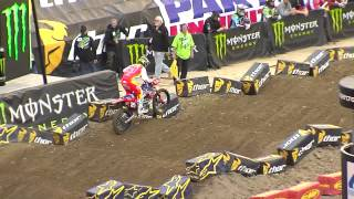 Supercross LIVE! 2014 - 2 Minutes on the Track - 250 Second Practice in Seattle