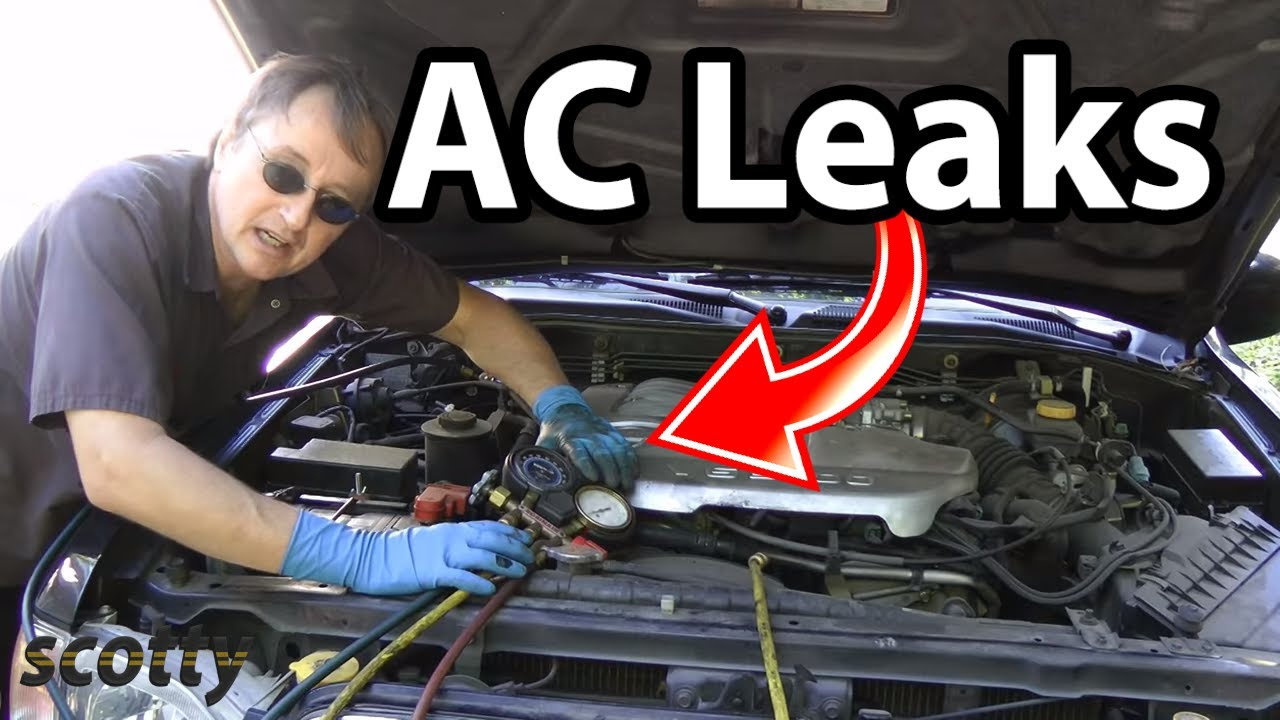 How to Find AC Leaks in Your Car (AC Hose Replacement)  YouTube
