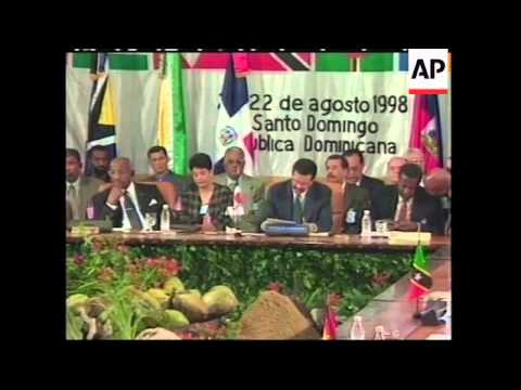 DOMINICAN REPUBLIC: CUBAN LEADER FIDEL CASTRO VISIT