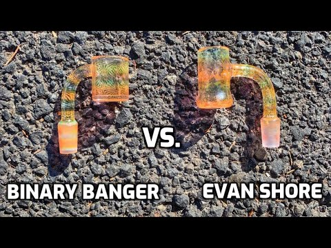 Truth Tech Vs. Binary Banger - $300 Fumed Quartz Bangers