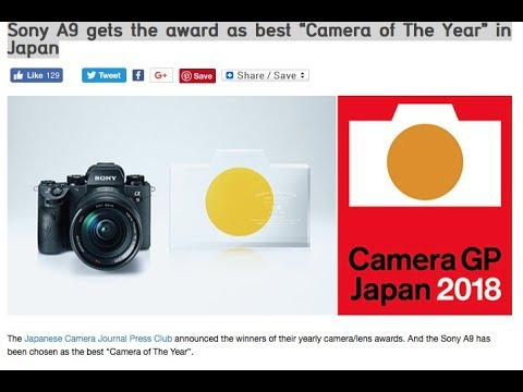 Sony a9 awarded as best camera of the year in Japan & Q&A