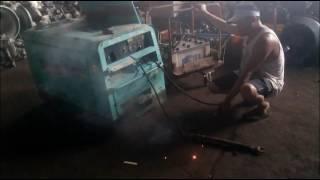 Denyo 300A Welder Generator Test Run