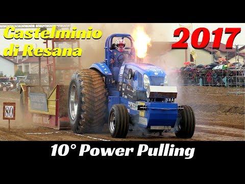 10° Power Pulling Castelminio di Resana 2017 Highlights - Festa Dea Poenta