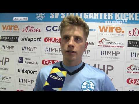 Derbysieg. Stuttgarter Kickers gewinnen mit 3:1 gegen den VfB II