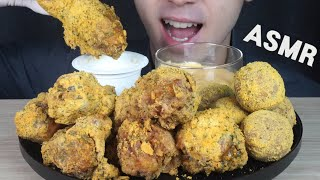 ASMR BHC KOREAN FRIED CHICKEN(…