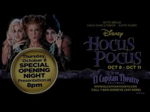 Kenny Ortega Appearing Opening Night Of Hocus Pocus At The El Capitan Theatre