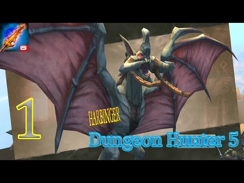 Dungeon Hunter 5 : Android Gameplay Walkthrough Part -1 (1080p)