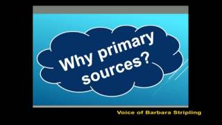 Provoking Inquiry Through Primary Sources