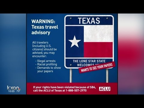 ACLU of Texas issues travel advisory in light of new immigration law