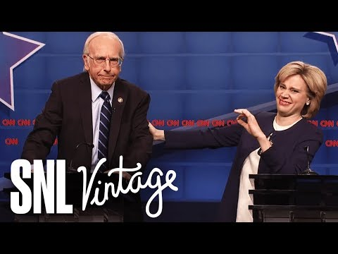 Larry David fulfills destiny, plays Bernie Sanders on Saturday Night Live