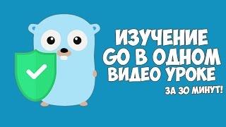 Изучение Go в одном видео уроке за 30 минут!