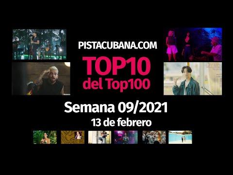 Top10 del Top100 semana 09/2021 (13 de febrero 2021)