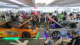FAST&FURIOUS Supra & Skyline Shut Down The CarMeet!!