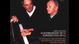 **♪シューマン:ピアノ小協奏曲(序奏とアレグロ・アパッショナート)ト長調 op.92 / ヴィルヘルム・ケンプ(ピアノ),ラファエル・クーベリック指揮バイエルン放送交響楽団 1973年12月