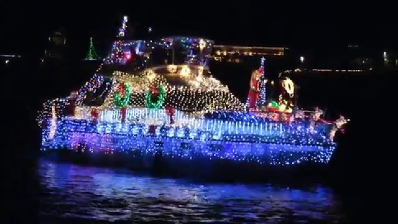 2015 newport beach christmas boat parade full hd part 2 of 2