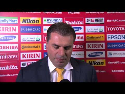 Interview: SF2 - Ange Postecoglou (Coach, Australia)