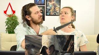 Assassin's Creed 3 -- Официальный трейлер | Реакция