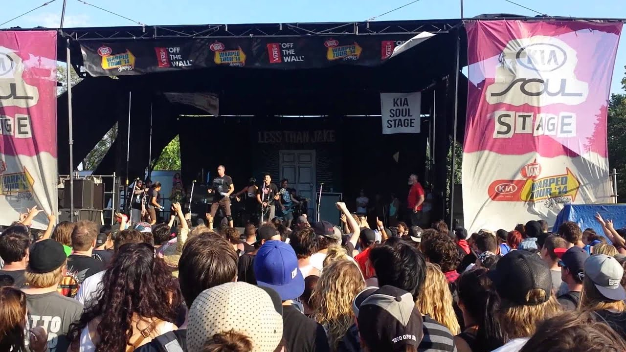 784305482c Less Than Jake - Overrated (Everything is)   Montreal Vans Warped Tour 2014
