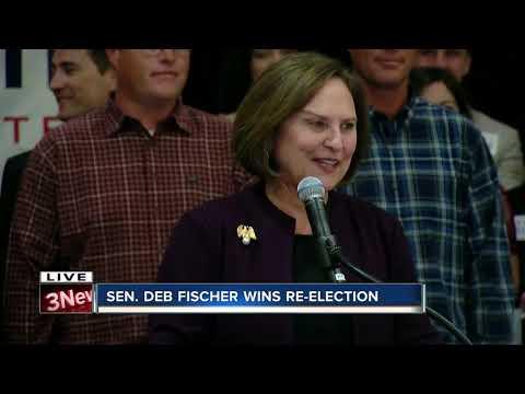 Deb Fischer Gives Victory Speech