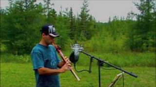 Native American Flute music   Steven Gigante    Two Omaha Flute pieces  Without Effects