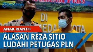 TERUNGKAP Alasan Reza Sitio Ludahi Petugas PLN di Medan, Saat Listrik Mau Diputus