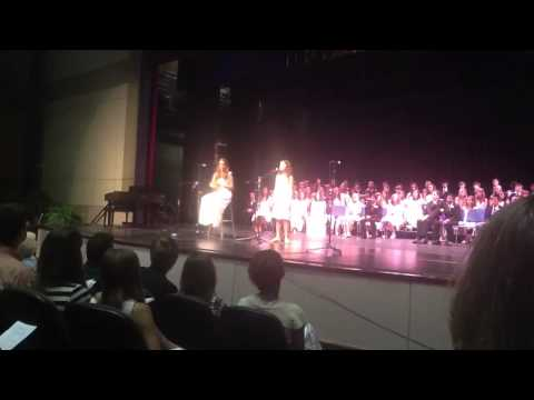 "Girl Sings ""Long Live - Taylor Swift"" at Middle School Graduation (AMAZING!)"