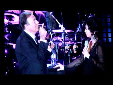 葉蒨文Sally yeh and Julio Iglesias