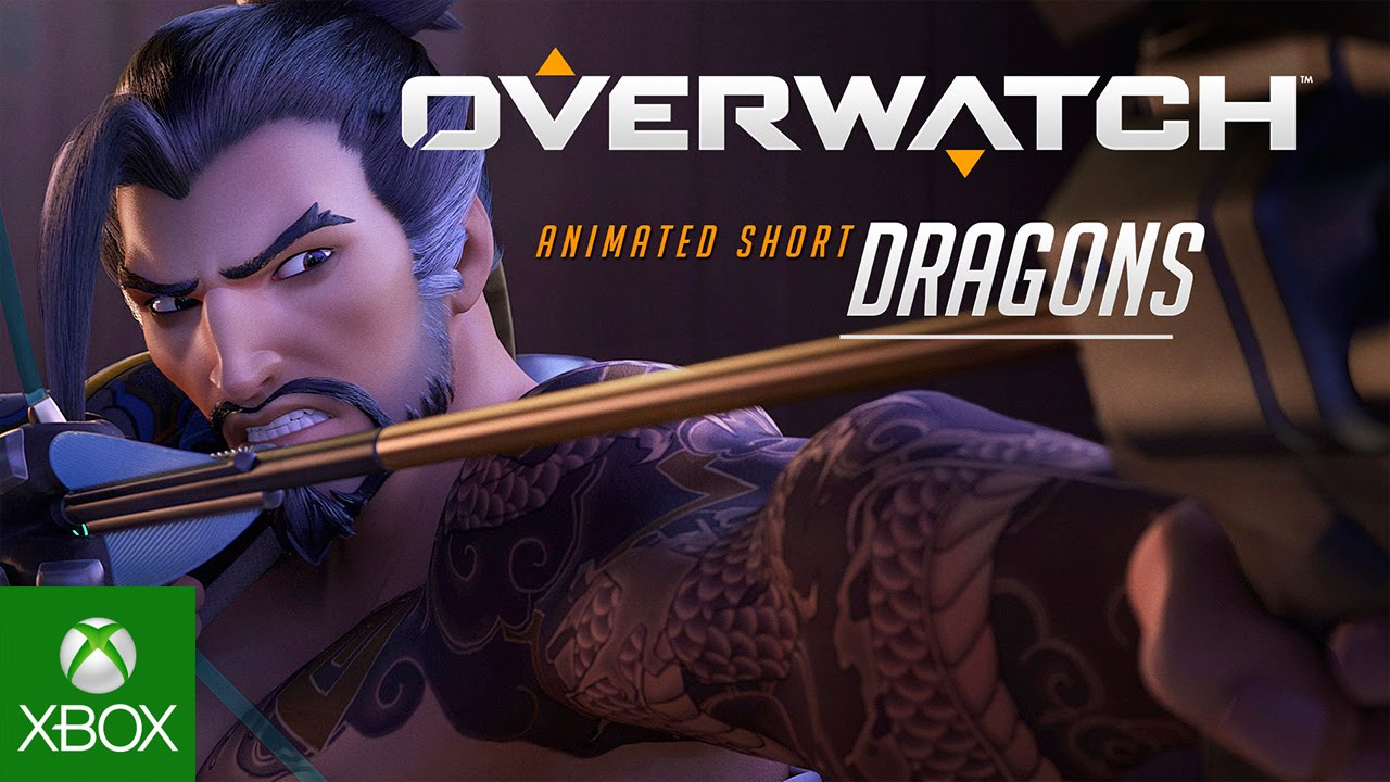 """Overwatch Animated Short   """"Dragons"""""""